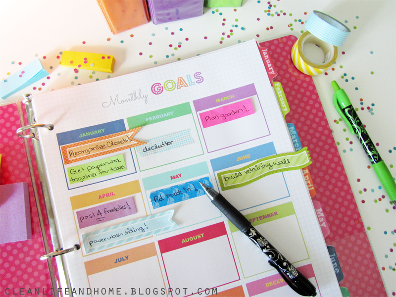 This page features the multicolor color palette combined with a bright ...