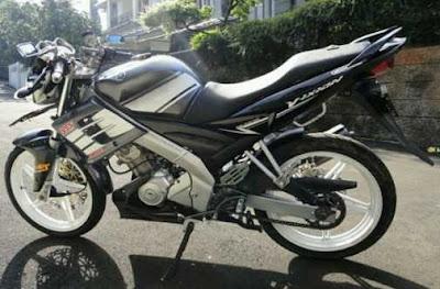 Motor Drag Ninja Elegan Untuk Modif Yamaha Vixion 2009