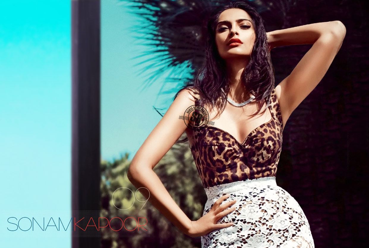 hot sonam kapoor bikini photo