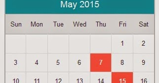 Tax due date 2015
