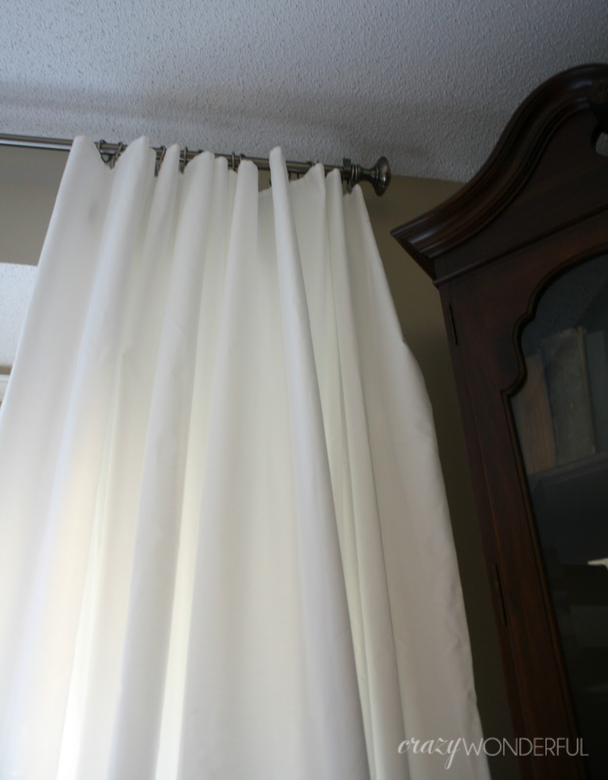 curtain for extra shower ideas custom white home hot curtains hanging long decor