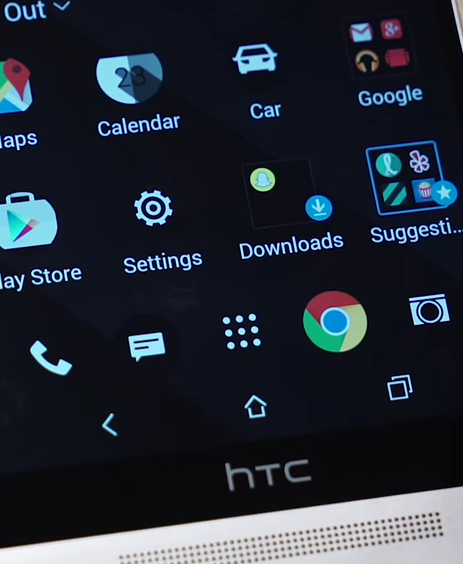 HTC One M9+ with 2K Display
