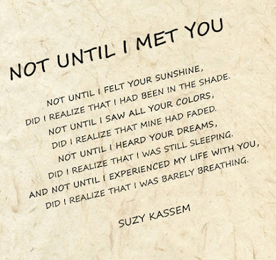 Not Until I Met You - Suzy Kassem