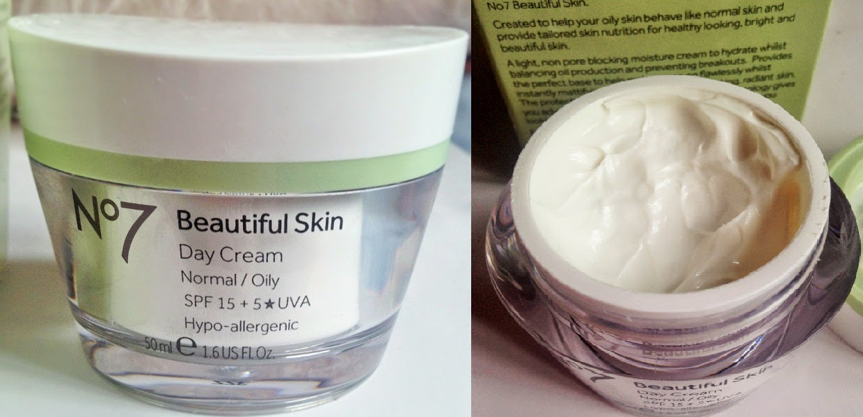 No7 Beautiful Skin Day Cream Normal/Oily