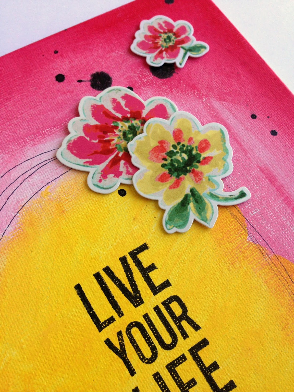 Precocious Paper: Live Your Life Happy - DCWV