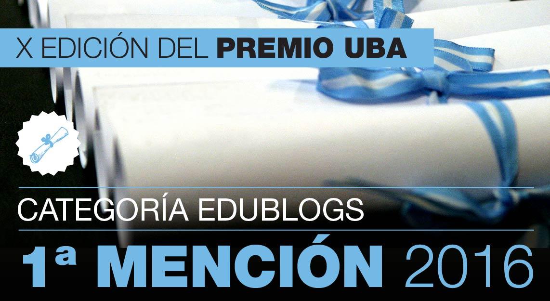 #PremioUBA2016