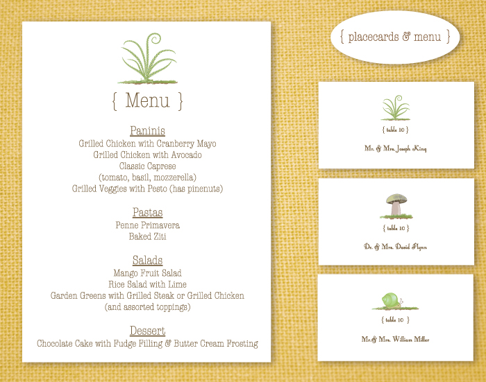 Menu Card Examples Images - Reverse Search