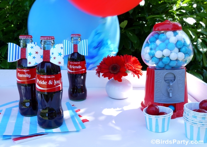 4th of July Garden Picnic Party Ideas | Party Ideas | Party Printables