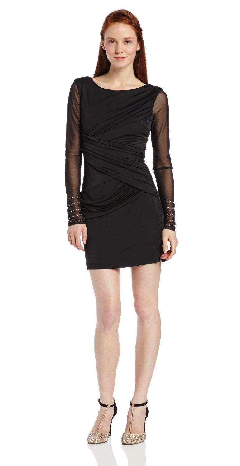 Plain Black Dresses for Juniors