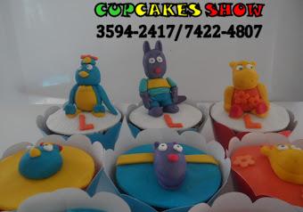 Cupcakes em 3D dos backardigns