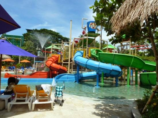 Paket wisata Bali 5 hari 4 malam - Waterboom