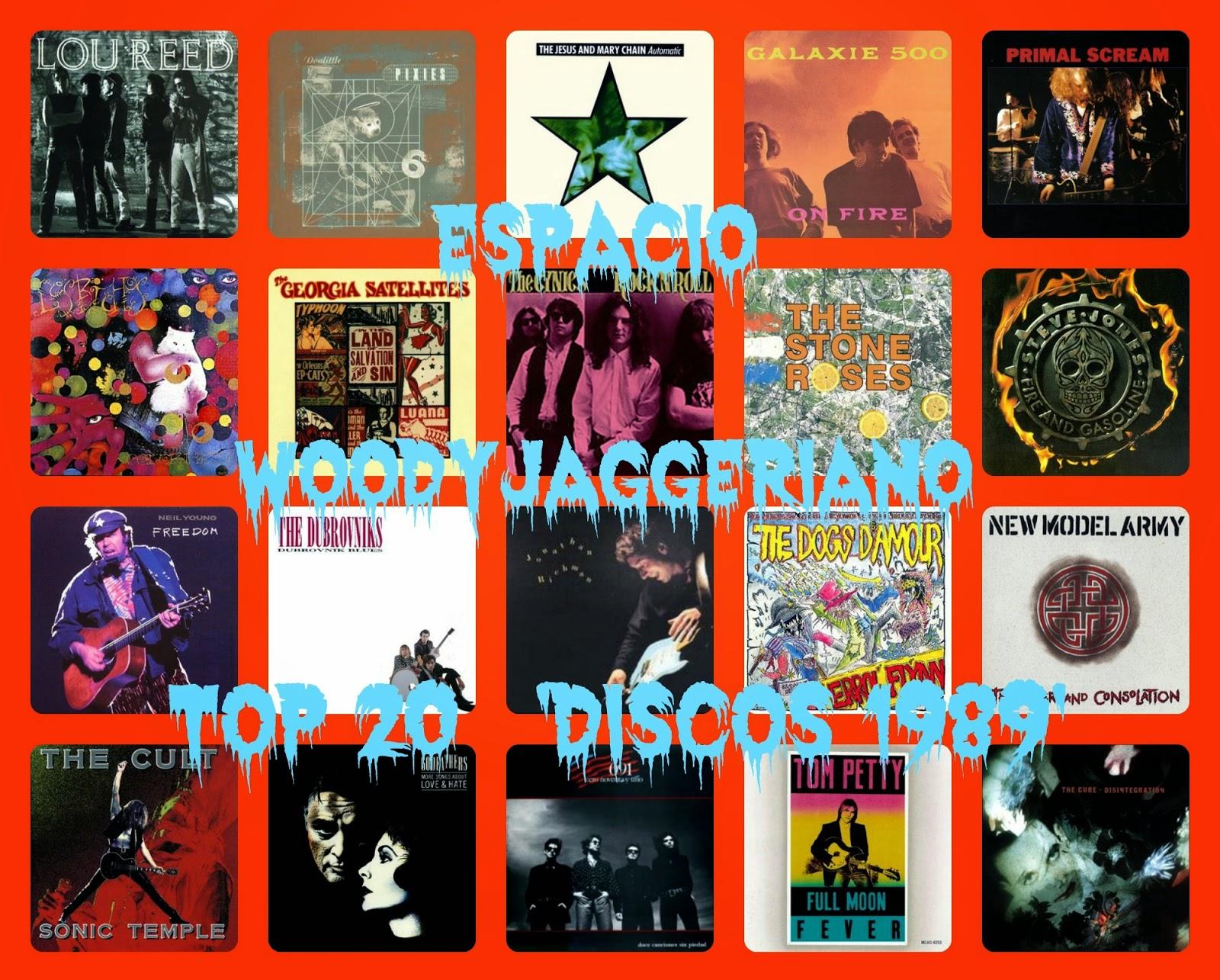 Los mejores discos de 1989