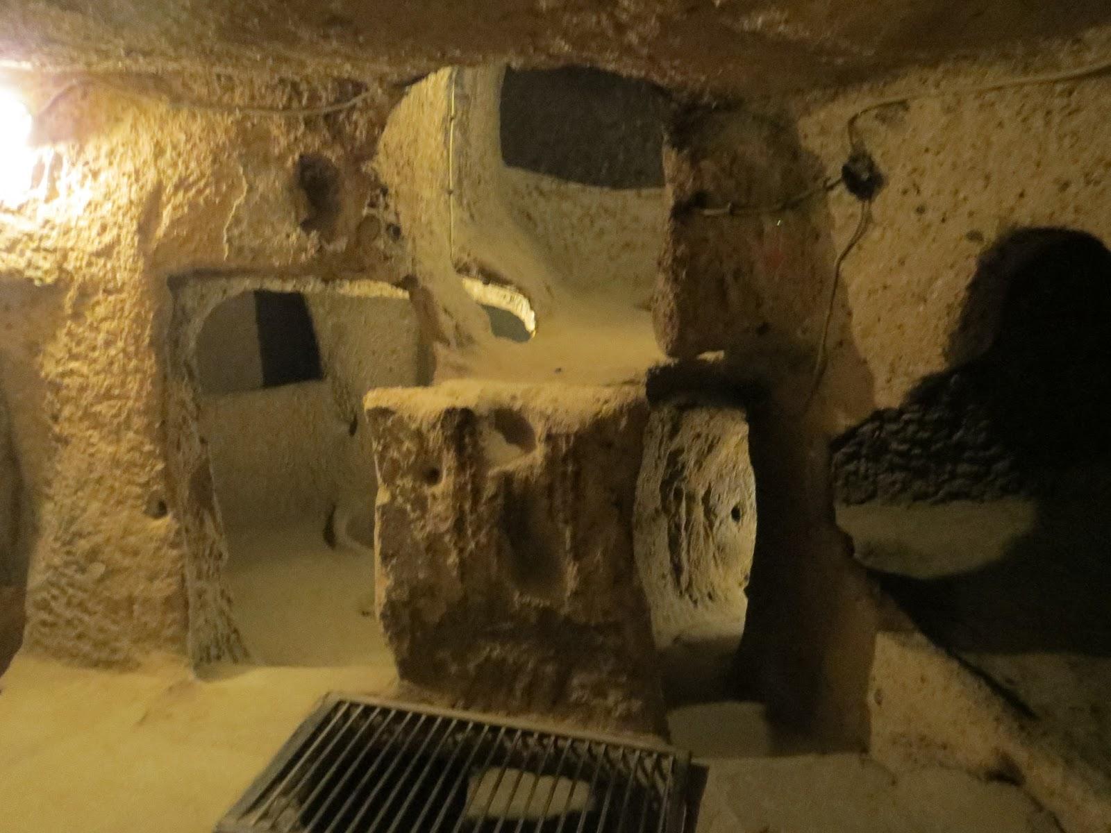 londinoupolis: Kaymakli Underground City, Cappadocia