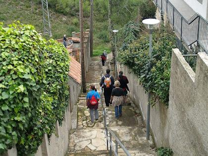 Les escales del carrer del Puigmal