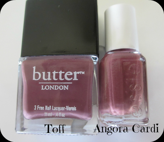 Butter London Essie Nail Polish