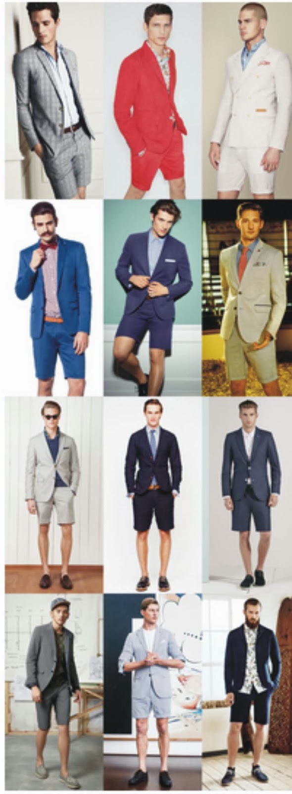 Gents Fashion: In Defence Of The Short Suit