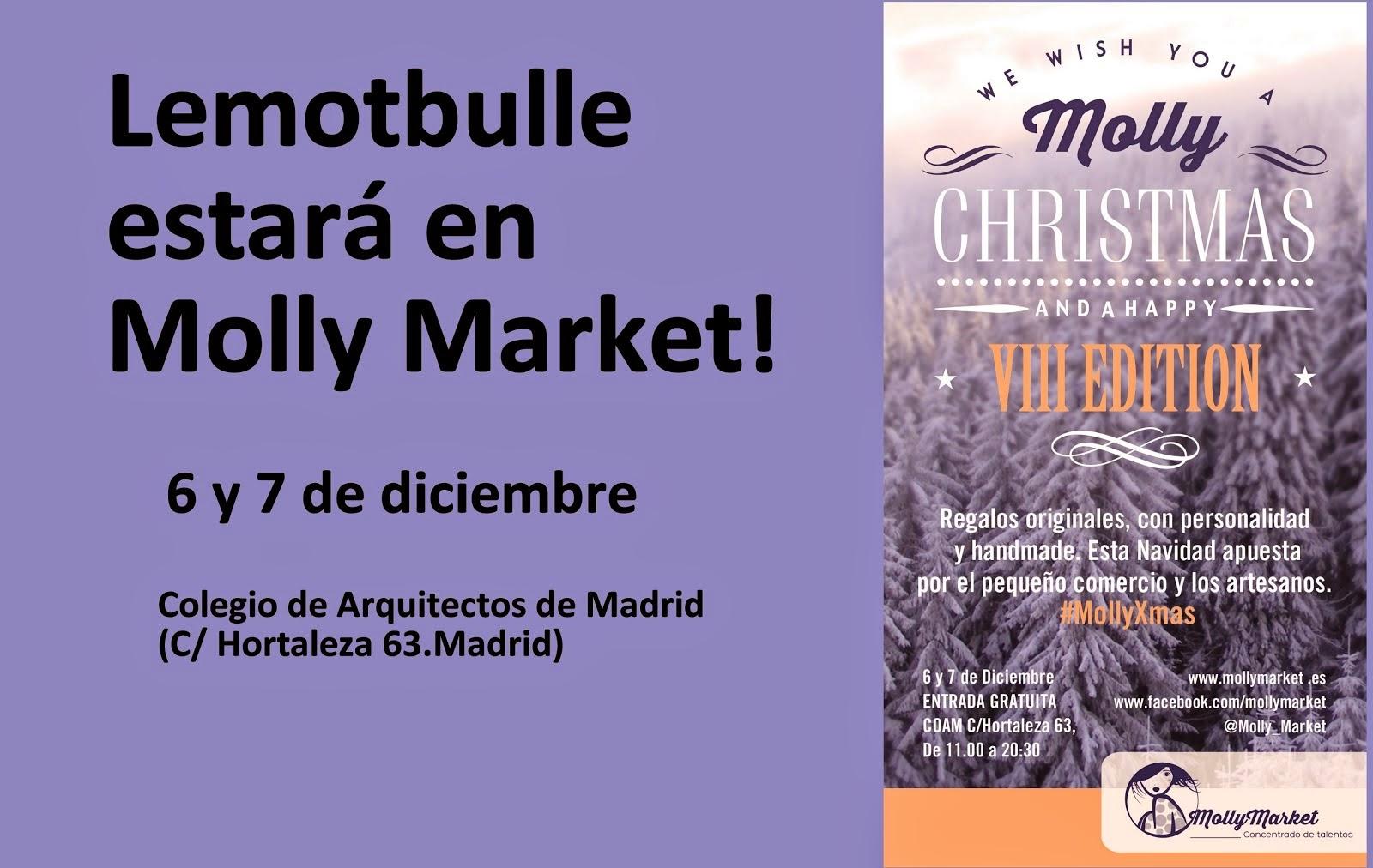 Molly Market estará lleno de poesía!