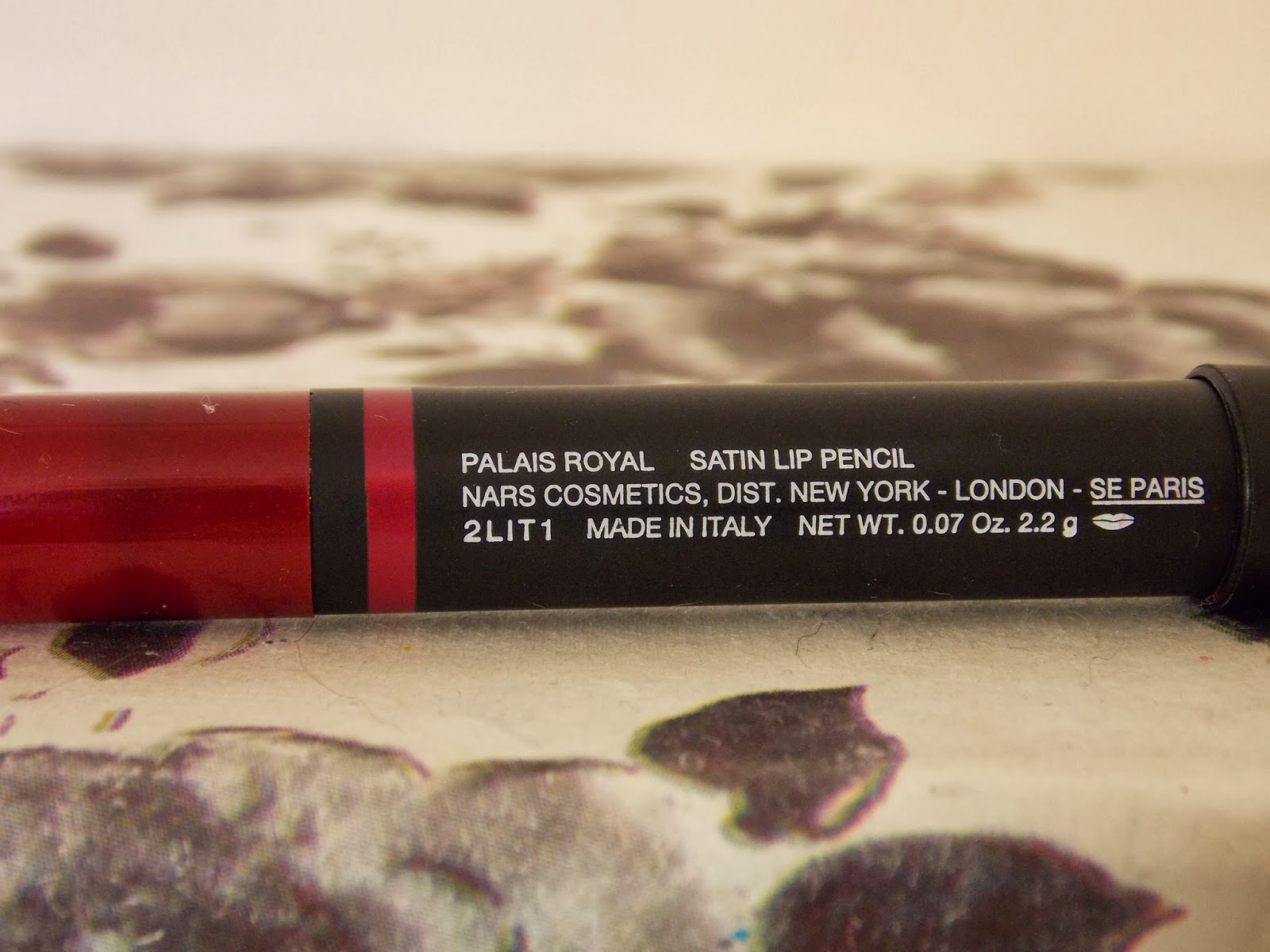 Nars Satin Lip Pencil in Palais Royal