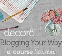 Blogging Your Way e-course student