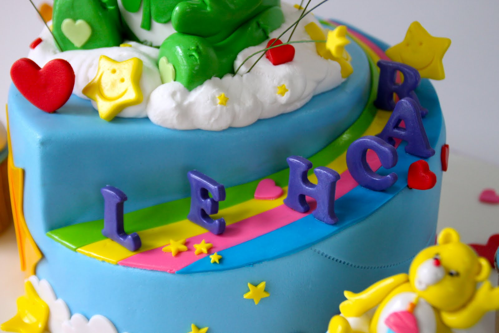 Celebrate With Cake Care Bears Cake