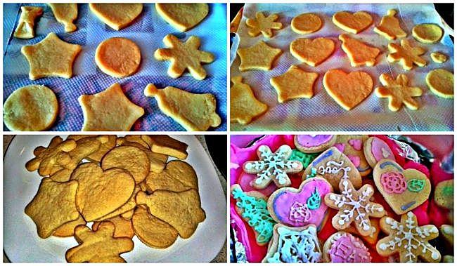 Preparación de las galletas de ensueño