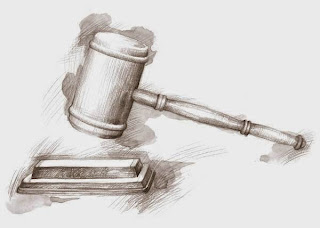 drawing of gavel