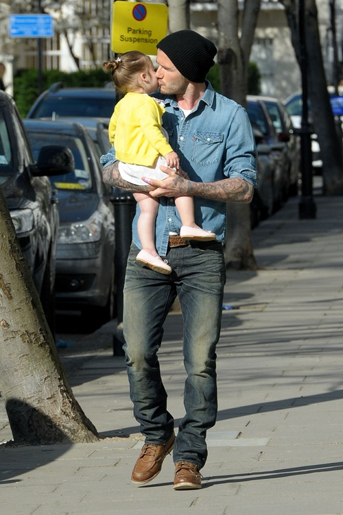 David Beckham: Super Keren dengan Jeans