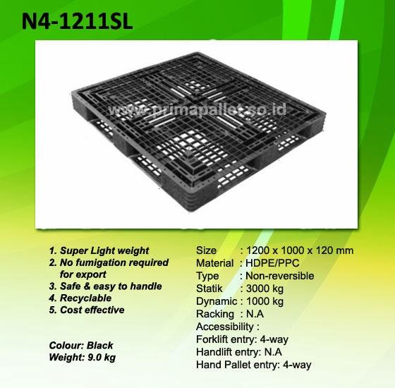 Pallet Plastik N4-1211SL
