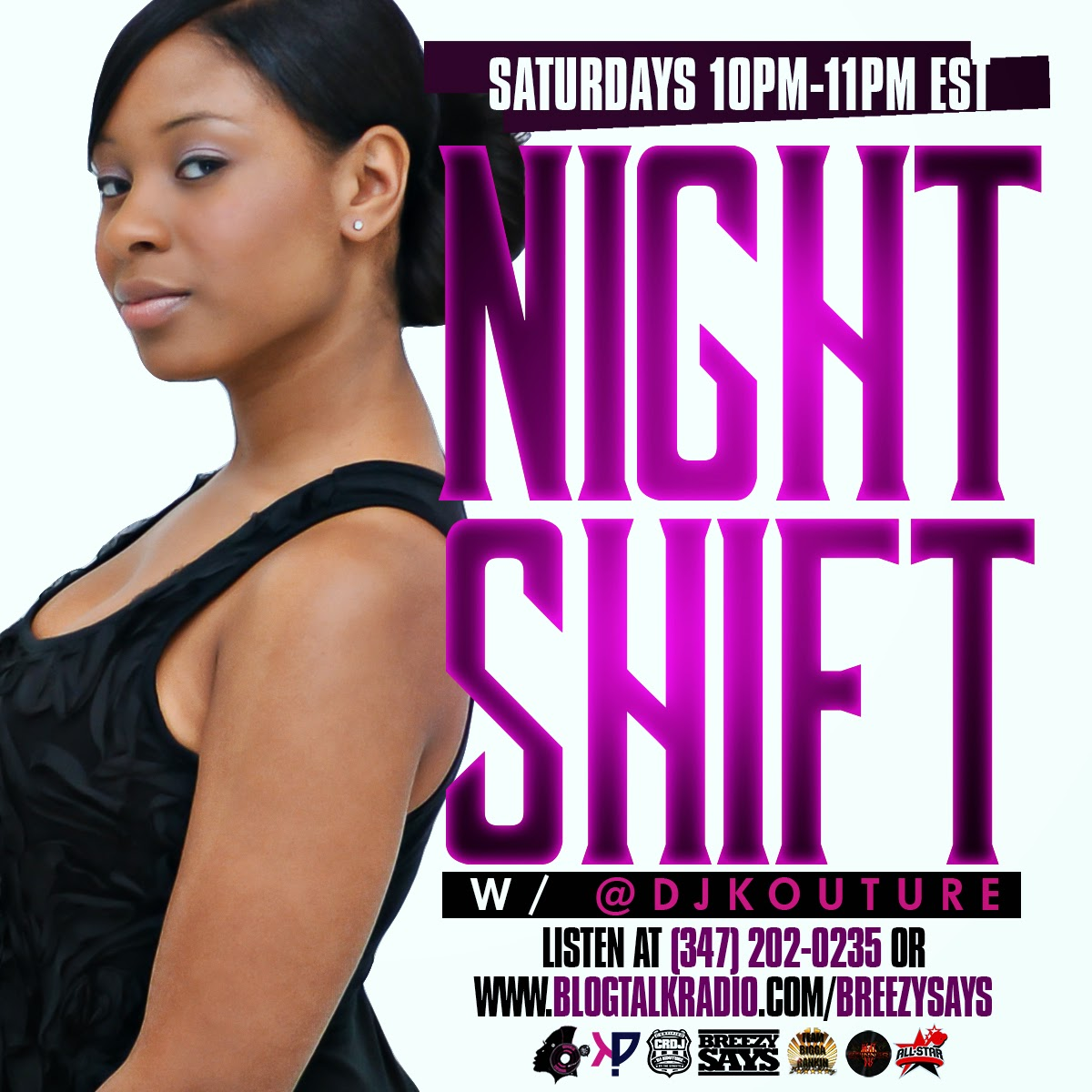 RADIO: THE NIGHT SHIFT, SATURDAYS FROM 10-11PM EST