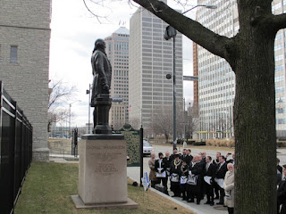 Mason's Wreath Ceremony 2012 Detroit