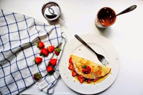 Sáng tạo tuyệt vời với bánh Crepe của Pháp 1