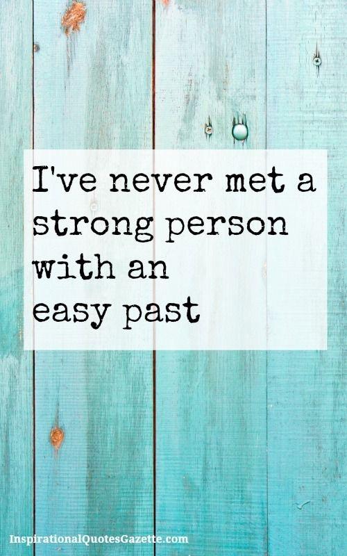 I've never met..