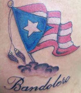 Best tattoos for men puerto rican flag tattoos for Puerto rican tattoo