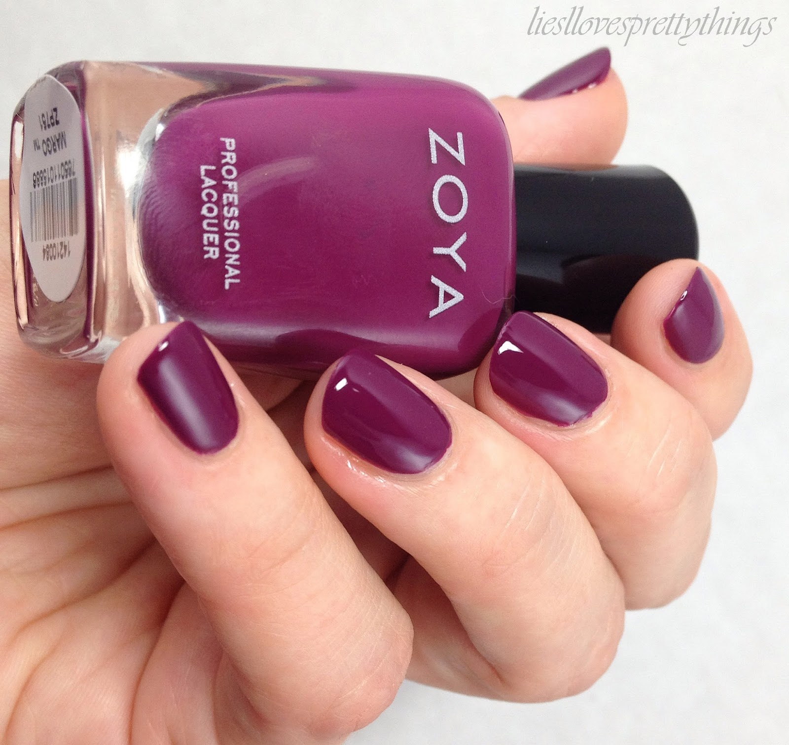 Zoya Margo (Entice, Fall 2014) swatch and review