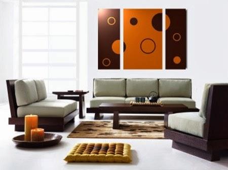 Decoraci n y afinidades paredes pintadas con figuras - Decoracion de paredes con cuadros ...