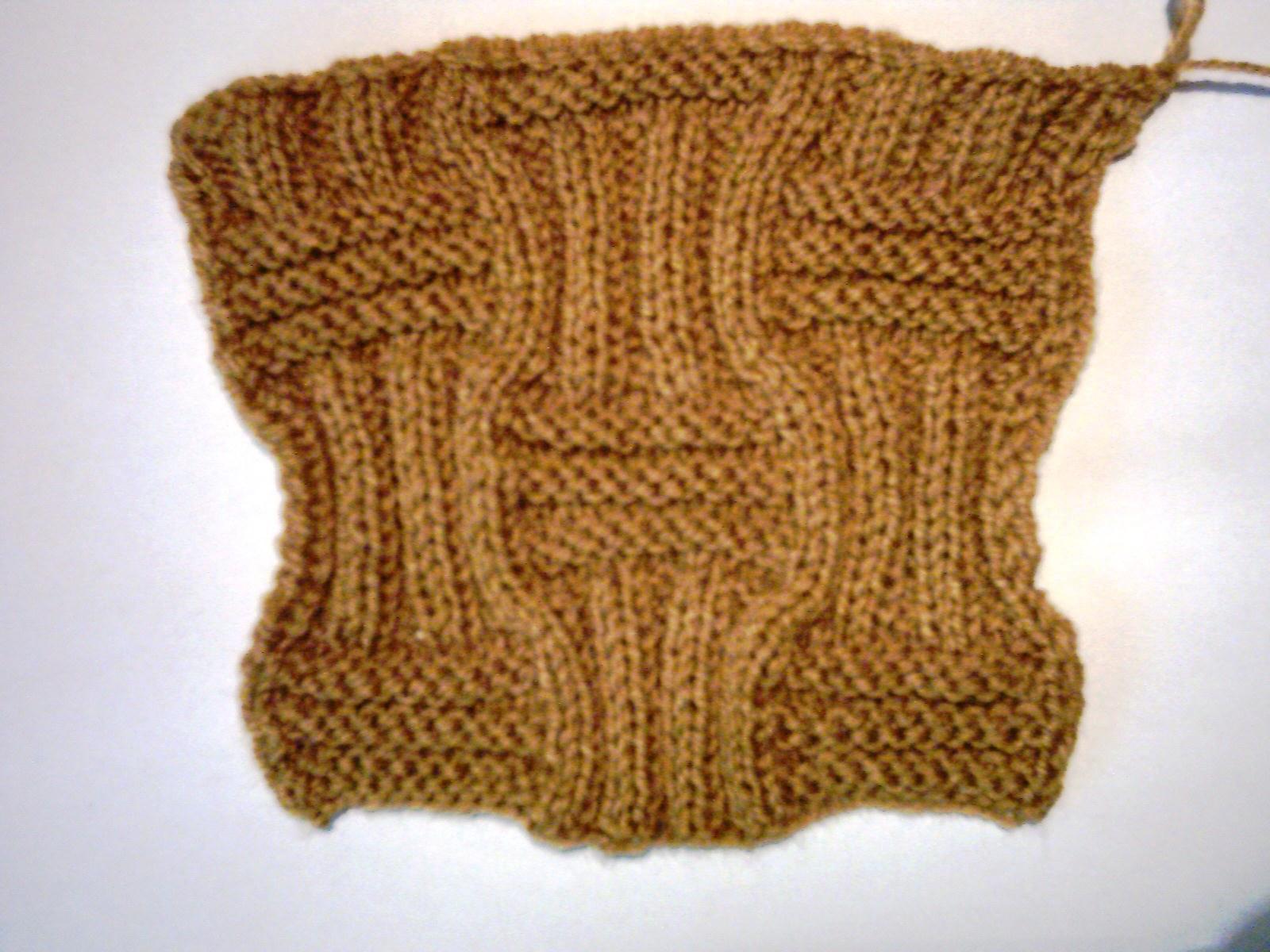 Schema De Tricotat Este Urmatoarea
