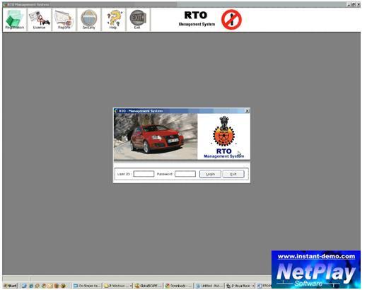 rto management system project pdf