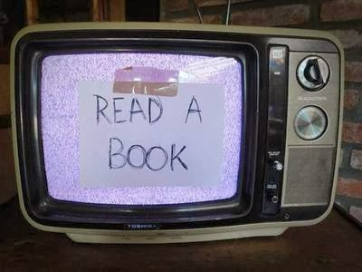Stop watching TV and...