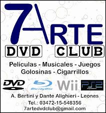 7mo ARTE DVD - CLUB en Leones