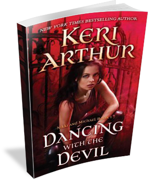 Book Cover: Dancing with the Devil by Keri Arthur