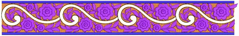 naaldwerk dekoratiewe Kant grens