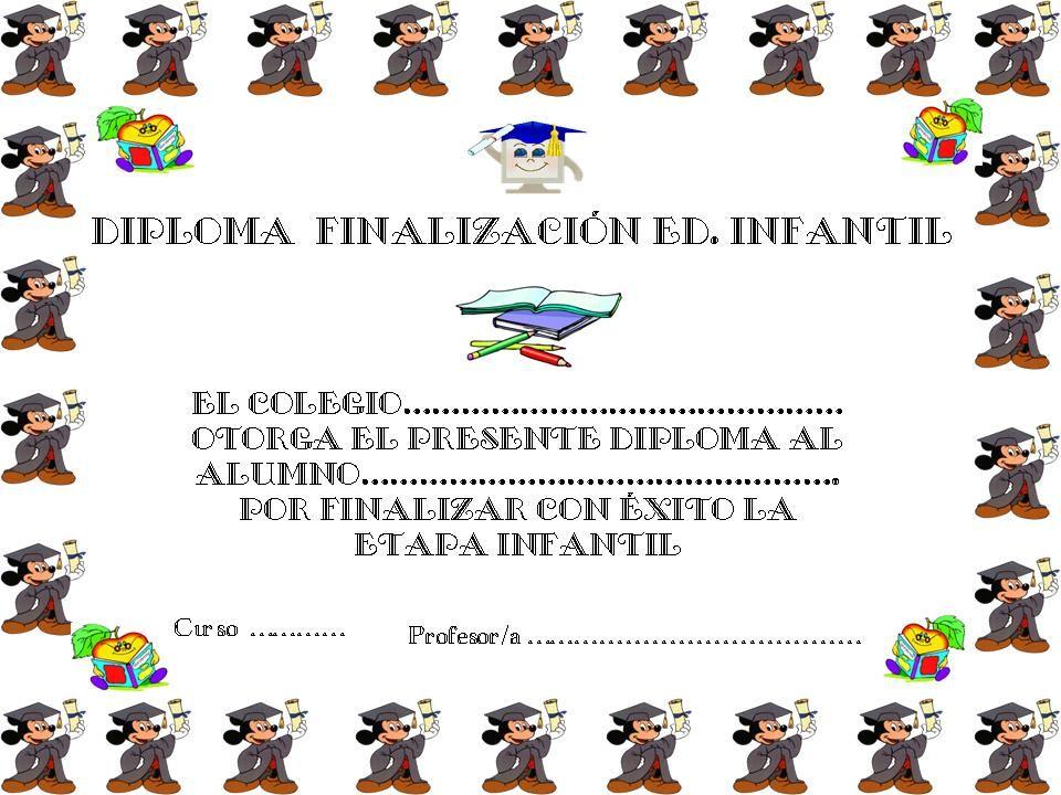 El Rincón de Andreíto: Plantillas de Diplomas para imprimir