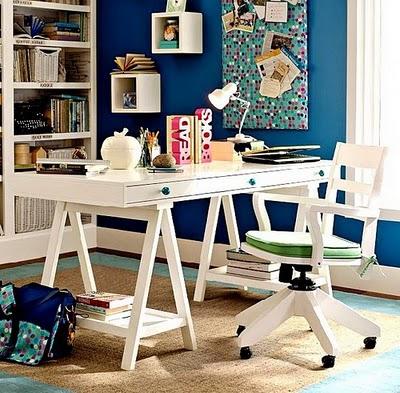 Decora el hogar cuarto de estudio para chicos for Habitacion de estudio