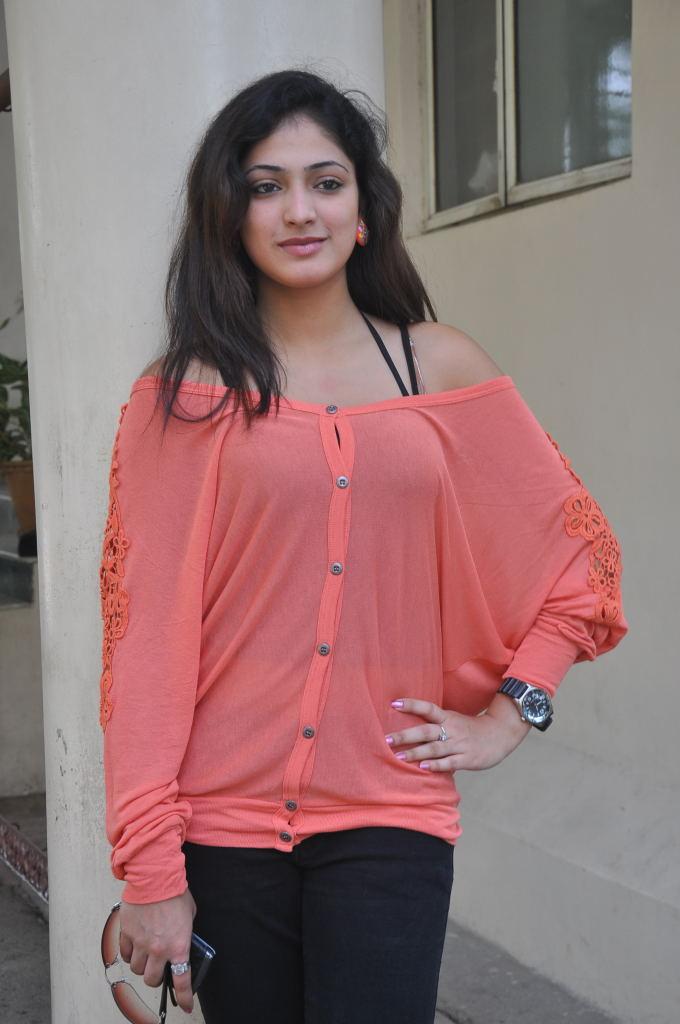 , Beautiful Haripriya Latest Pics In Orange Top