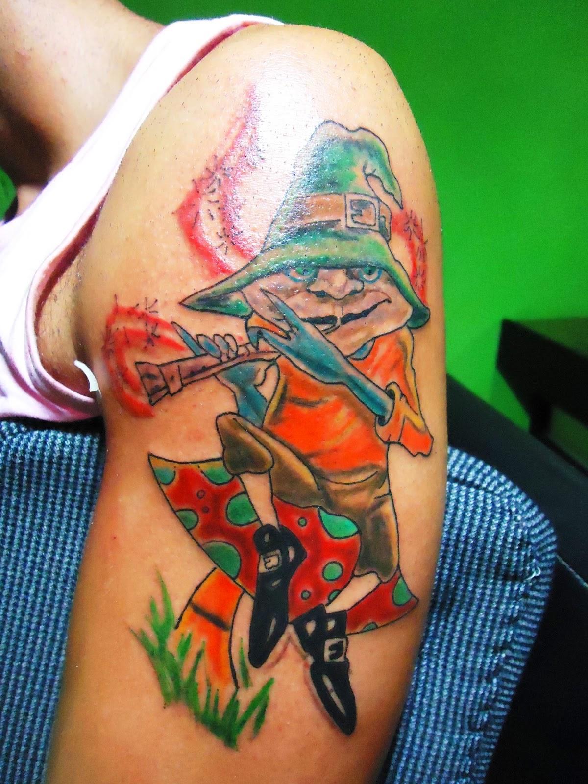 Tatuajes de duendes en el brazo tatuaje original fotos - Tattoo disenos a color ...
