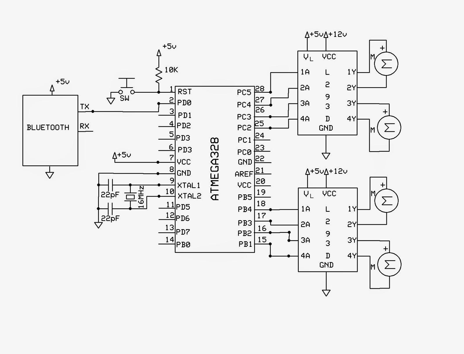 EMERGING TECHNOLOGIES BLUETOOTH CONTROLLED ROBOT