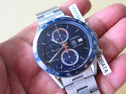 TAG HEUER CARRERA SUNBURST BLUE DIAL - CHRONOGRAPH - AUTOMATIC CALIBRE 16