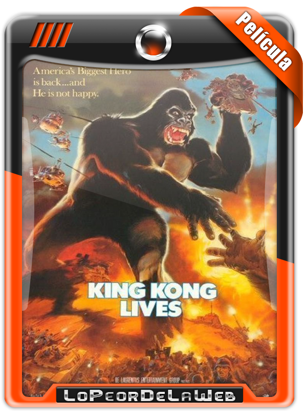 King Kong Lives (1986) | King Kong 2 720p H264 Dual Mega