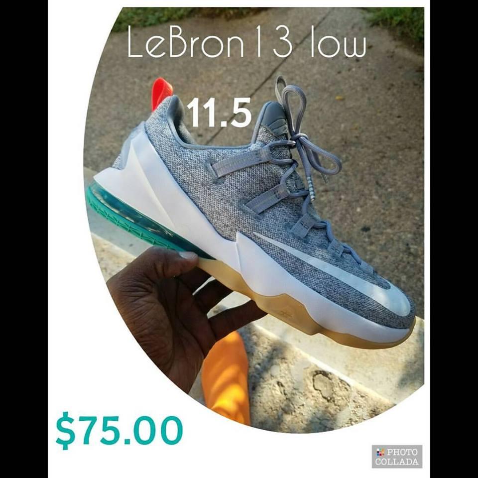 lebron 13 low 11.5, NEW!
