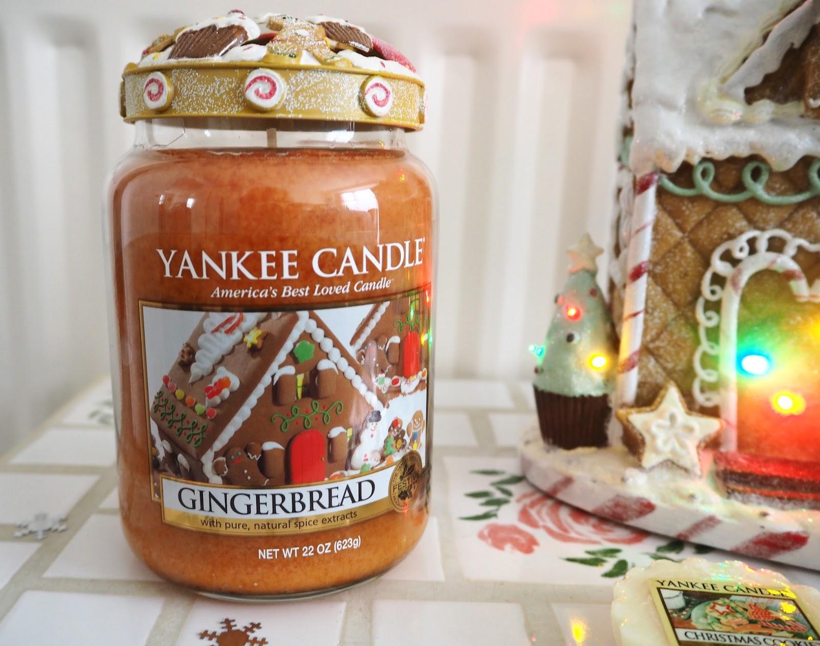My Christmas Yankee Candles Gingerbread | Katie Kirk Loves